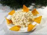 My french sweet corn salad with sour cream