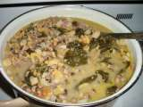 Recipe New year's leftovers - crockpot hoppin' john