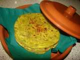 Recipe Methi thepla/fenugreek greens flat bread