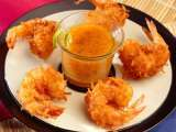 Recipe Coconut shrimp and dipping sauce