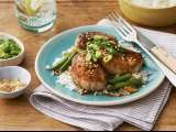 Recipe Pork tenderloin medallions in lemon-mustard sauce