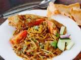 Recipe Mie kepiting aceh (aceh crab noodle) recipe