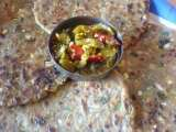 Recipe Sunflower seed and cabbage parathas