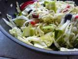 Recipe Apple and cabbage salad