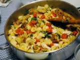 Recipe Tasty tuesday ~ orecchiette pasta w/ mini chicken meatballs