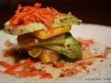 Recipe Poblano pepper - avocado - mango salad