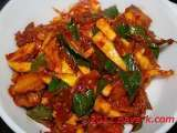 Recipe Salt fish and mango sambal (sauce)