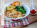 Recipe Mie ayam kuning (yellow chicken noodle) recipe