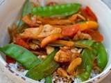Recipe Sweet and spicy chicken stir fry