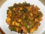 Recipe Aloo capsicum curry/ potato capsicum curry