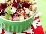 Recipe Red n green apple salad
