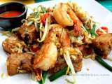 Recipe Pad kha-nom pak kard goong (stir-fried radish cake with shrimp)