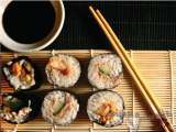 Do it yourself sushi rolls