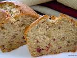 Recipe Cranberry walnut banana cake