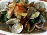 Recipe Clams in sautéed tomatoes