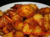 Lemongrass chilly potatoes