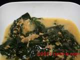 Recipe Cekur manis (sweet leaf) & anchovies in milk gravy