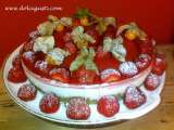 Recipe Ricotta mousse with strawberry jelly