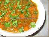 Recipe CARROTS AND BEANS IN COCONUT MILK GRAVY