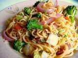 Recipe Vegetable Yakisoba
