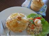 Recipe Panang chicken pie