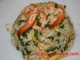 Recipe Prawns and long beans fried rice