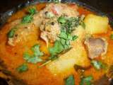 Recipe Aloo chicken curry