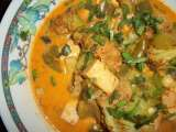Recipe Sayur lodeh(veggies cooked in a light coconut broth)