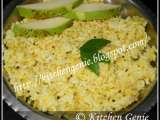 Recipe Kairi bhat / unripe green mango rice