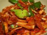 Recipe Sotong (squids) & kaffir lime leaves sambal (gravy)