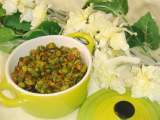 Recipe Beans cuury with dalia powder