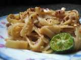 Recipe Tuna pad thai pasta