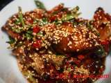Recipe Chilly honey chicken with sesame seeds