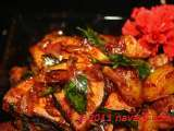 Recipe Vegetarian fish and potatoes sambal (sauce)