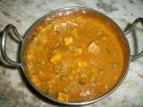 Recipe Mutter paneer (paneer & peas cooked in tangy tomato sauce)