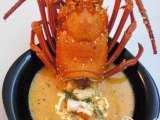 Classic lobster bisque