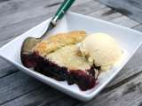 Recipe Maine blueberry pie