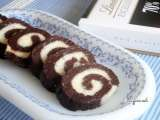 Recipe Coconut filled chocolate rolls