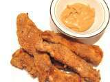 Recipe Easy healthy homemade crispy chicken fingers