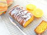 Recipe Orange cake with vanilla butter glaze