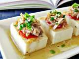 Recipe Tuna and tofu cold dish