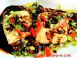 Recipe Tofu in chilly soy sauce