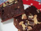 Recipe Fudge walnut brownies (w/o refined sugar)