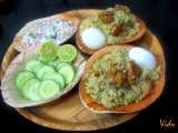 Recipe Donne biryani recipe