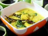 Moor kolumbu (ash gourd yogurt curry)