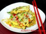 Recipe Bean sprouts omelette