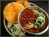 Recipe Pindi chole and wheat bhatura