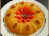 Recipe Semolina carrot cake