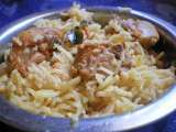Recipe Spicy south indian chicken biryani