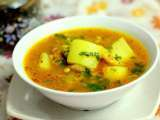Recipe Hot masala lentil soup